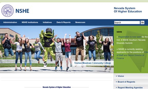 Nevada System of Higher Education main page