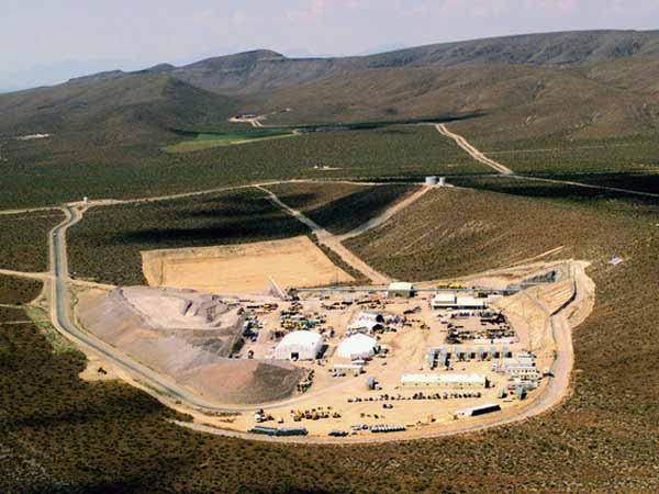Yucca Mountain Nuclear Site