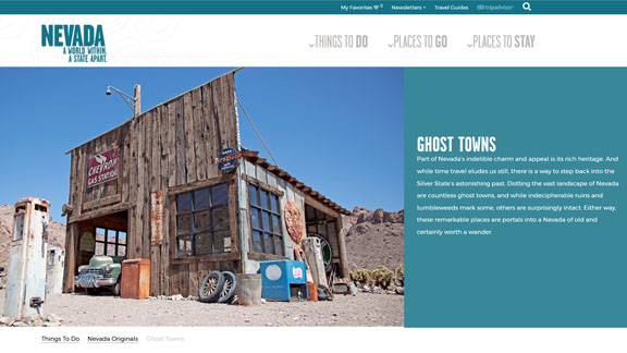 Screen shot of Ghost Towns